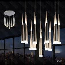 modern bar lighting. Hot Selling Modern Vibia Slim LED Multi 16 Light Pendant Asparagus Ceiling Lamp Fixture Bar Lighting R