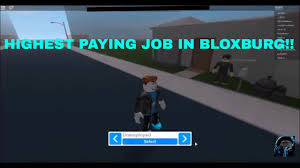 Highest Paying Jobs In Roblox Bloxburg List Of Jobs From Lowest To Highest Pay