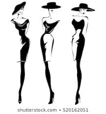 Fashion Sketch Images Stock Photos Vectors Shutterstock
