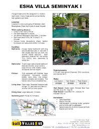 5 Bedroom Villa Seminyak Style Simple Inspiration Design