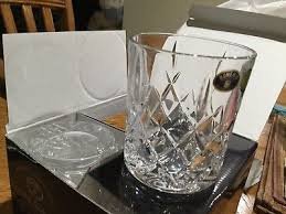 crystal bohemia double old fashioned whiskey glasses set of 4 cups 10 oz 300 ml