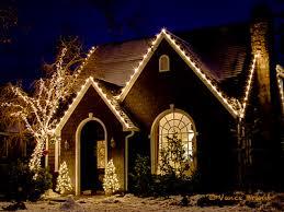 christmas home lighting. Christmas Lights On Tudor Home Lighting O