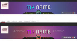 Youtube Channel Template Youtube Banner Art Template 20 Free Psd Ai Vector Eps
