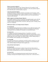 Sample Perfect Resume Objective How To Write With No Job