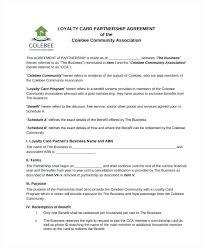 Investment Partnership Agreement Template Partnership Investment