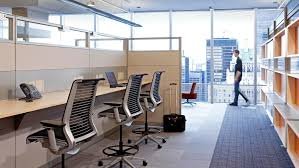 New office design Office Space Telus Steelcase Office Design Layout Case Study Telus Telcomm