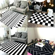 black striped rug white plush rugs inspirational geometric black stripes rug images of and striped outdoor black striped rug