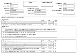 Corrective Action Report Template Form Inspirational Pdf – Mklaw