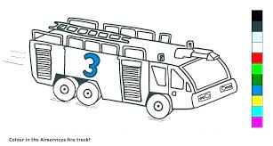 Coloring Fire Truck Coloring Pages Free Printable Colouring Sheets