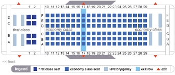 Delta Airlines Aircraft Seating Chart Delta Airlines Aircraft Seatmaps Airline Seating Maps And