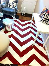 red chevron rug chevron rug custom painted from er red chevron outdoor rug red and white red chevron rug