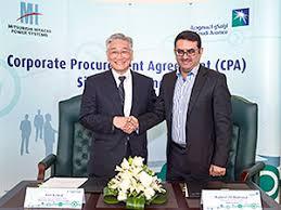 Mitsubishi Hitachi Power Systems Concludes Cpa With Saudi Arabian ...