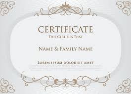 diploma border template elegant certificate border free vector download 8 466 free vector