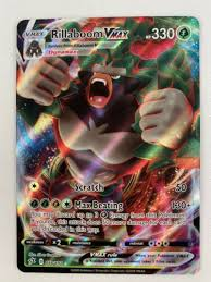 Maybe you would like to learn more about one of these? Mavin Pokemon Card Rillaboom Vmax 018 192 Rebel Clash Nm M