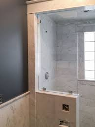 ... Marble steam shower installation ...