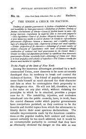 federalist no wikiwand paul leicester ford s summary preceding federalist no 10 from his 1898 edition of the