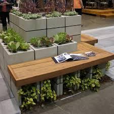 cinder block garden wall. 9 DIY Cinder Block Gardens That Will Make You Want To Grab Your Gardening Tools | Brit + Co Garden Wall W