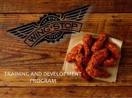 Wingstop Sauce Chart Training Wingstop