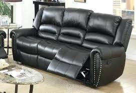 black leather reclining sofa. Gray Leather Reclining Sofa Black Cortez Premium Top Grain Sectional . 2 Dark