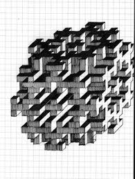 Graph Paper Draw Easy Graph Paper Drawings Easy Things To Draw On Graph Art In 2019