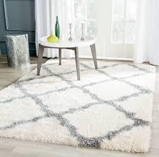 home interior liberal gray and white rug com cozy soft plush moroccan area