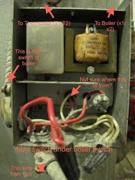 replacing old relay the new honeywell r8845u1003 wiring attached images