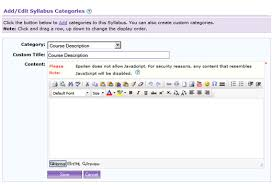 creating a syllabus course syllabus nyu scps online epsilen user guide