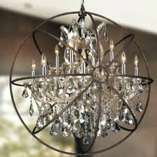 chandeliers chrome orb chandelier house designs photos s light finish and clear large chrome orb chandelier