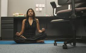 Image Executive Meditation In The Office Snacknation 13 Easy Ways To Create Zen Office Space On Budget