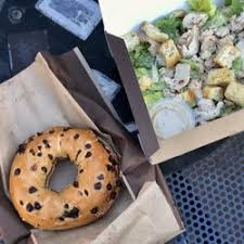 photo of panera bread millbrae ca united states chocolate chip bagel and