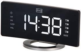 Радио-будильник <b>MAX CR</b>-<b>2915</b>, Black Gray