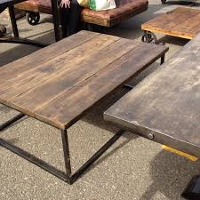 distressed industrial furniture. diy industrial table with reclaimed wood i love my coffee but distressed furniture