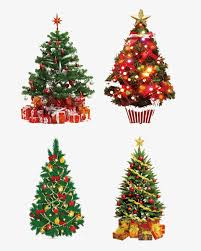 Christmas Tree Vector Material Vector Image Free Download Tree