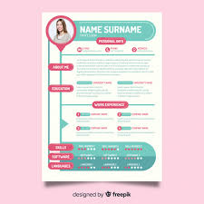 The Modern Resume Stunning Modern Resume Template Vector Free Download