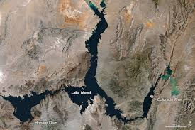 Lake Pleasant Water Level Chart Lake Mead Reaches A Record Low Earth Earthsky