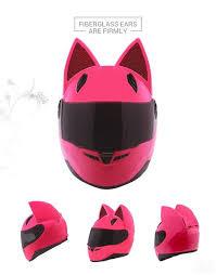 Collected images of happy customers by motorcycle helmet brands: Cat Style Women Motorcycle Helmet Pride Armour