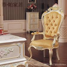 royal classic european furniture hand carved baroque office chair living room classic furniture european furniture baroque office chair with