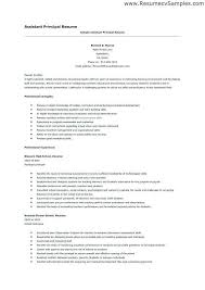 ↫ 40 Assistant Principal Resume Inspiration Assistant Principal Resume