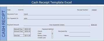 Get Cash Receipt Template Excel Excel Spreadsheet Templates