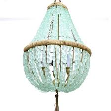 turquoise beaded chandelier sea gl bring a calm energy turquoise chandelier light fixture