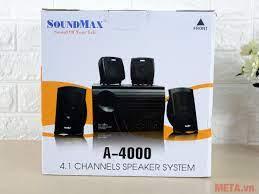 Loa SoundMax A4000 4.1 - META.vn