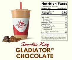 Smoothie King Nutrition Chart 3 Low Carb Keto Drinks You Can Order At Smoothie King Ketozila