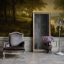 calame forest wall mural feathr