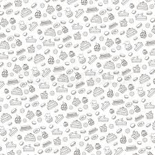 Doodle Vectorbakerycakes And Stock Vector Colourbox