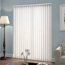 white pvc patio door vertical blind rs