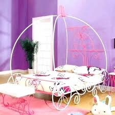 Princess Canopy Bed With Trundle Beds Home Improvement Charming ...