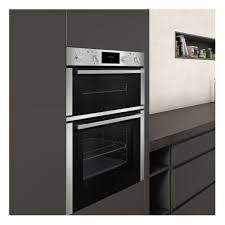 neff u1dcc1bn0b built in electric double oven double oven built in ovens cooking