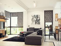 Nature and modern living room