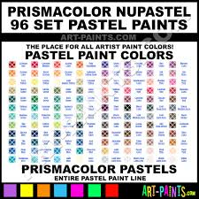 Peacock Blue Nupastel 96 Set Pastel Paints Np205 Peacock