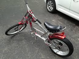 orange county chopper schwinn sting ray bicycle what s it worth